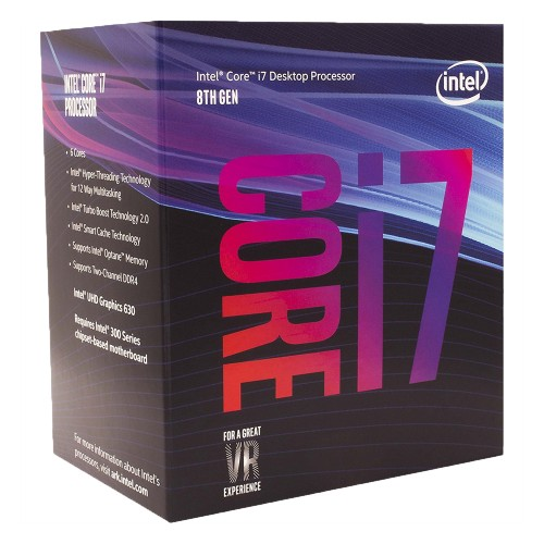 CPU Intel Core I7-8700