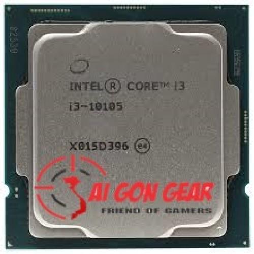 CPU Intel Core i3-10105 (3.7GHz turbo up to 4.4Ghz, 4 nhân 8 luồng, 6MB Cache, 65W) - Socket Intel LGA 1200 ( tray new )