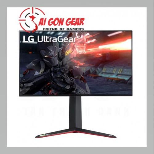 LG UltraGear 27GN950-B Gaming Monitor – 27 inch, 4K UHD, Nano IPS, 144Hz, 1ms, HDR600, 10bit, G-Sync
