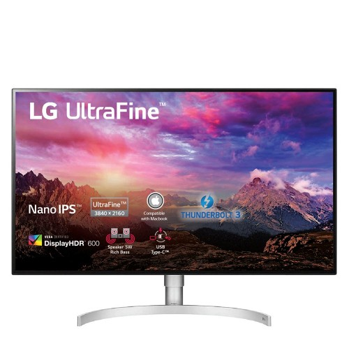 Màn hình máy tính LG UHD 4K 31.5 IPS UHD 4K VESA DisplayHDR™ 600 Daisychain 4K Thunderbolt 32UL950-W