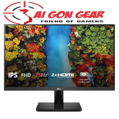 Màn hình LG 24MP500-B 24 IPS 75Hz Freesync chuyên game