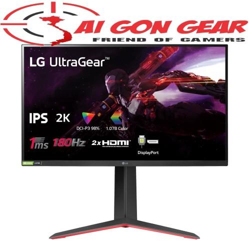 Màn hình LG 27GP850-B UltraGear 27 Nano IPS 2K 180Hz 1ms HDR G-Sync