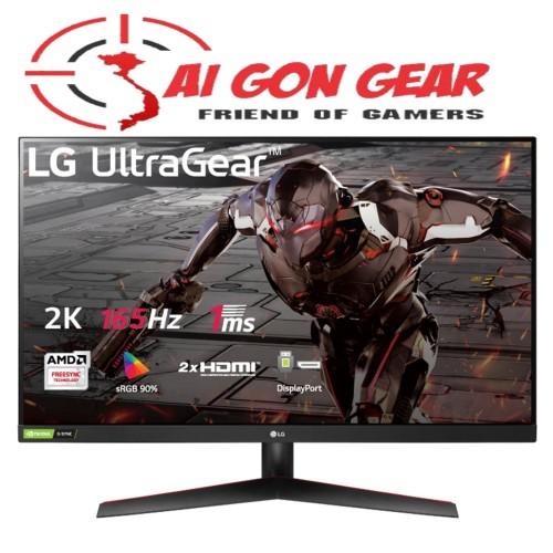 Màn hình máy tính LG UltraGear™ 31.5 VA QHD 165Hz 1ms MBR AMD FreeSync™ HDR 32GN600-B