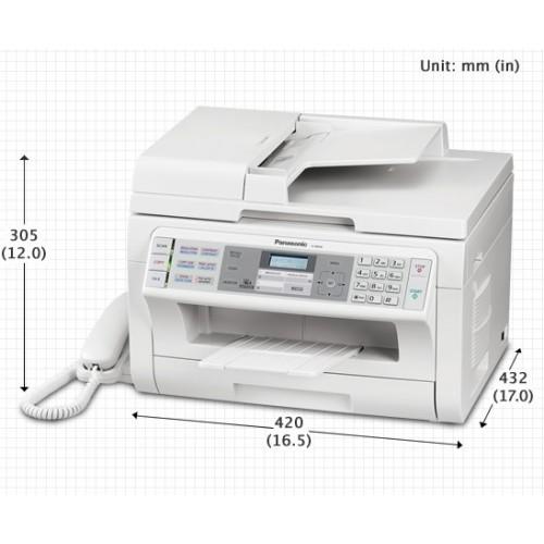 Máy in laser đen trắng Panasonic KX-MB2085 (Print - Copy - Scan - Fax - Tel)