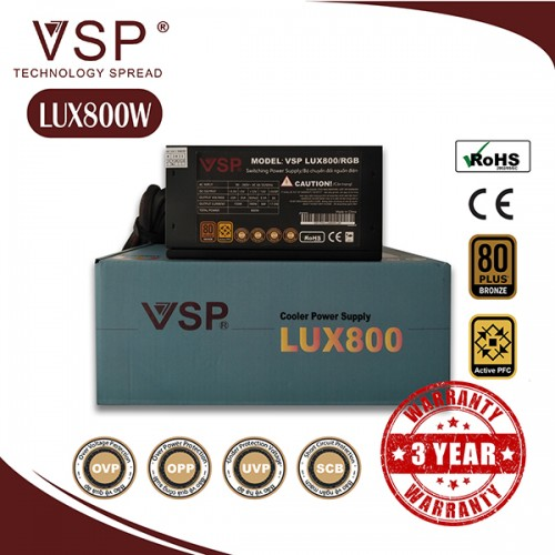 Nguồn VSP Plux 800W - LED RGB