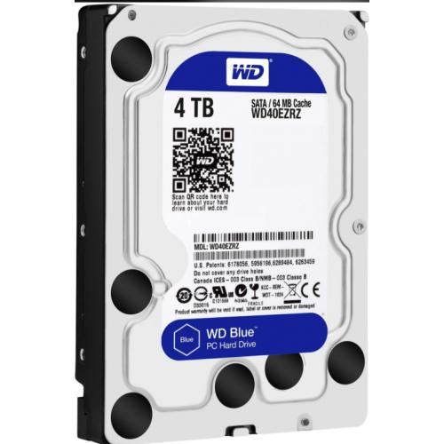 Ổ cứng HDD Western Digital Blue 4TB 3.5 SATA 3 - WD40EZRZ