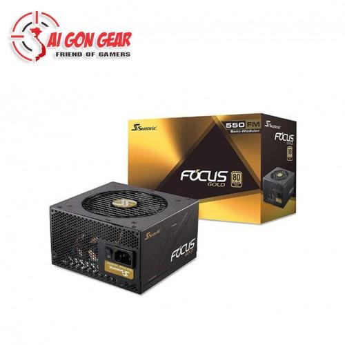 Nguồn Máy Tính Focus Plus Gold FM 550W