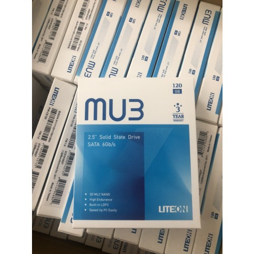 Ổ cứng SSD LITE-ON 120GB Mu3