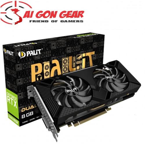 Card màn hình Palit RTX 2060 Super DUAL 8G