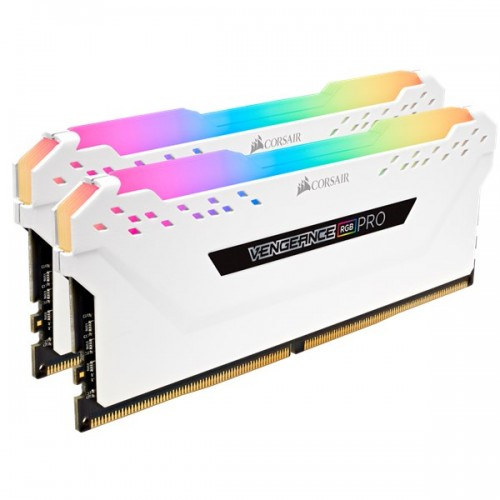 Corsair Vengeance Pro RGB DDR4 16G (2x8) 3200 Mhz C16 - White Edition