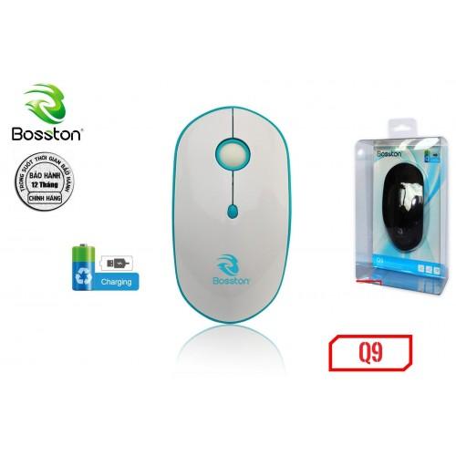 Chuột không dây Bosston Q9 - Pin sạc