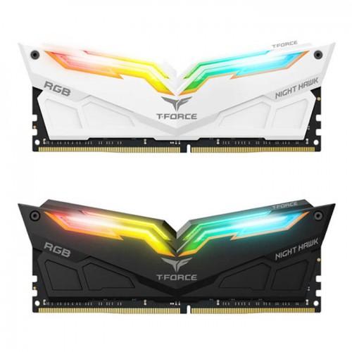 Ram TEAMGROUP Team T-Force Night Hawk RGB 16GB (2x8GB) DDR4 3000MHz LED