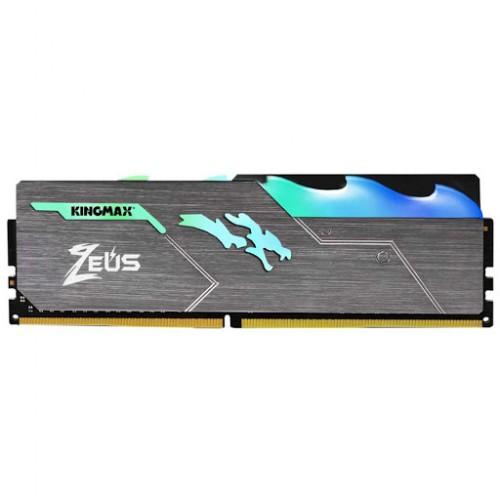 Ram KingMax 8GB DDR4 Bus 3000 HEATSINK ( ZEUS ) LED