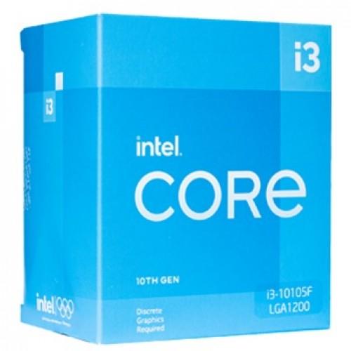 Vi xử lí i3-10105F box chính hãng