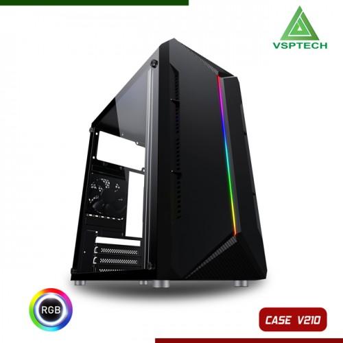 Vỏ Case VSP V210 Có Sẵn Dãy Led RGB ( Chưa Fan )