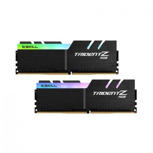 RAM Desktop Gskill Trident Z RGB (F4-3200C16D-64GTZR) 64GB (2x32GB) DDR4 3200MHz