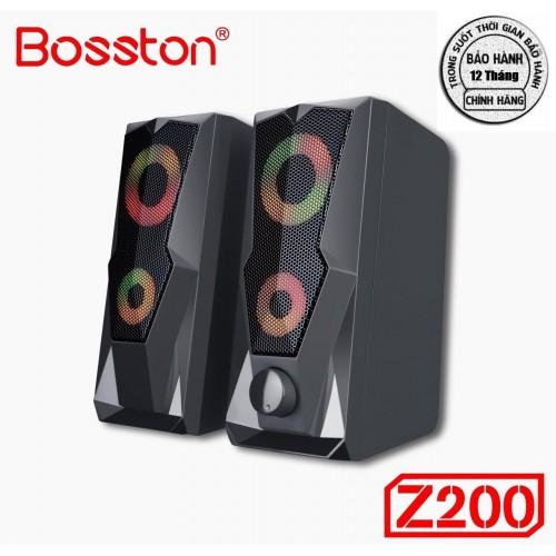 Loa 2.0 Bosston Z200-Led RGB