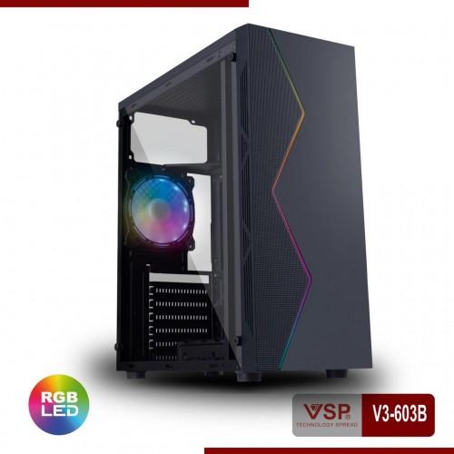 Vỏ Case VSP V3-603 Sẵn Dãy Led RGB ( Chưa Fan )