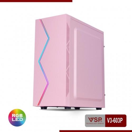 Vỏ Case VSP V3-603P / V3-603W Sẵn Dãy Led RGB ( Chưa Fan )