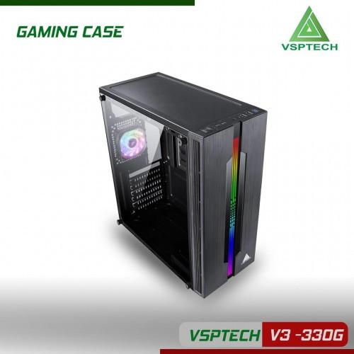 Vỏ Case VSP V3-330G Sẵn Dãy Led RGB ( Chưa Fan )