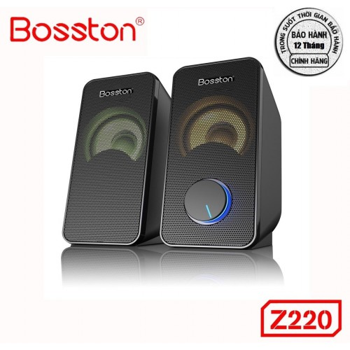 Loa 2.0 Bosston Z220-Led RGB