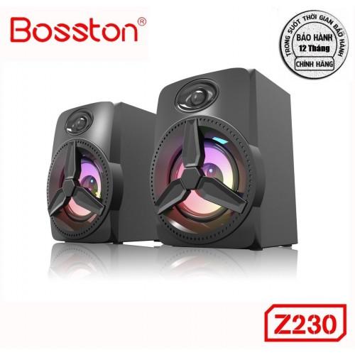 Loa 2.0 Bosston Z230-Led RGB