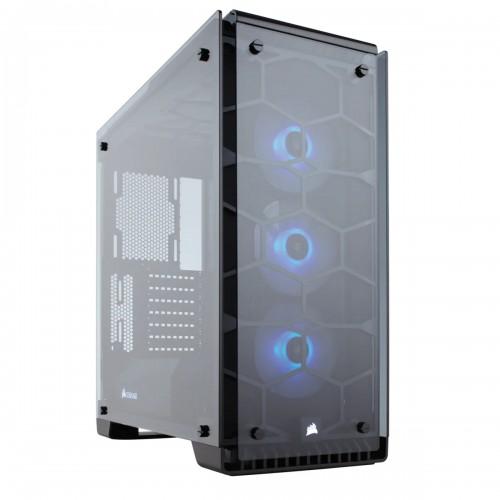 Case Vỏ máy tính cường lực Corsair  570X RGB Black
